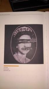 Sex Pistols Record Sleeve, Jamie Reid, 1977