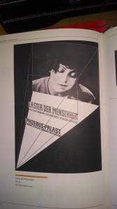 Laster der Menshheit, Poster Jan Tsichold, 1927