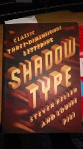 Shadow Type, Princeton Architectural Press, cover design Luise Fili and Steven Heller