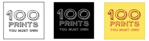 100 Prints Logo Proofs