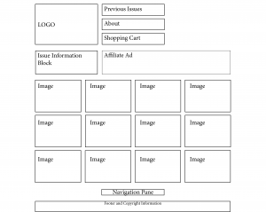 100 Prints- Wireframes