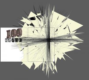 100 Prints Logo Abstract