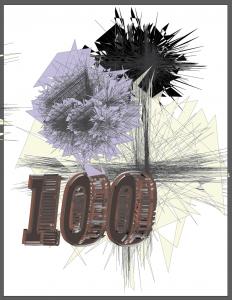 100 Prints Logo